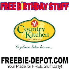 Country Kitchen Hannibal Mo Birthday Freebie Restaurant Menu