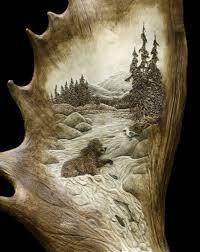 183 best carving antler work images on pinterest antler art