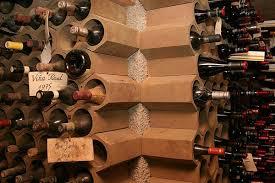 range bouteille en brique brico porte bouteilles tuyaux hexagonales terre cuite porte