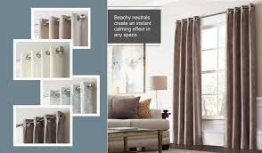 Allen Roth Curtain Rod Instructions by Shop Allen Roth Williamston 84 In White Polyester Rod Pocket