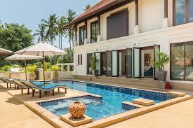 Villa Chi Samui At Lotus Samui Master Bedroom Villa Divina Stunning Pool Villa 3 Mins Walk To
