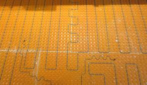 Ditra Xl Schluter Tile Underlayment by Ditra Heat Electric Floor Heat How To Install It Start To Finish