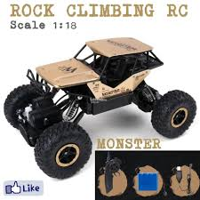 Alloy Monster 4WD 1/18 RC Car Rock C (end 1/23/2019 6:55 PM)