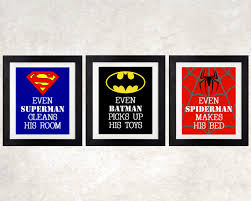 Superhero Bedroom Decorating Ideas by Wall Art Ideas Design Bedroom Design Superhero Wall Art For Kids