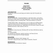 Resume Objective Information Technology Entry Level Data Analyst