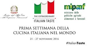 la cuisine des italiens la tunisie dans le programme de la première semaine de la cuisine