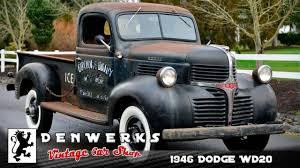100 1946 Dodge Truck WD20 Original Milk Dairy Survivor Pickup YouTube
