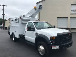 2006 FORD E350 CARGO BUCKET VAN BUCKET BOOM TRUCK FOR SALE #562795