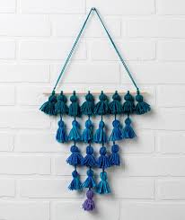 Tassel Wall Hanging Free Craft Pattern LW5243