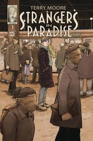Written Drawn By Terry Moore Strangers In Paradise