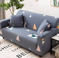 de mwmmwlh sofa überwürfe grau dreieck sofabezug