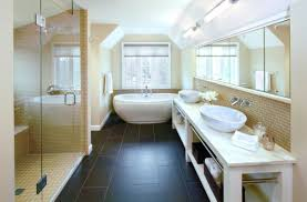 how to tile a bathroom floor yourself the easy way