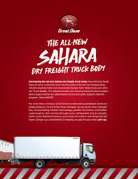 Sahara Sales Sheet By Great Dane - Issuu Hts Systems Hts10t Tilt Mount Ultrarack Purchase Order Flickr Chaing Gear Online Updates From Johnson Refrigerated And Mack Smarter Use Of Trailer Roof Fleet Owner Guardian Bro Welcome Truck Bodies 1994 Body For Sale Sioux Falls Sd 24678063 Ram Combo Trucks Red Bluff Ca Freightliner M2 With Johons 2010 Freightliner Business Class 106 In Williamsburg 2015 18 Ft Rigby Id Ups Ground Pickup Shipment For In 2018 Ford Transit F350 Great Dane