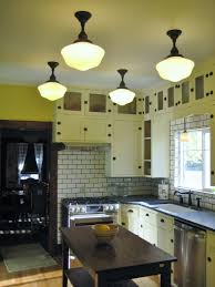 schoolhouse lights icing on the cake in kitchen remodel