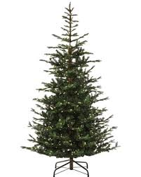 9 Ft Pre Lit Feel Real Norwegian Spruce Artificial Christmas Tree With 700 Clear