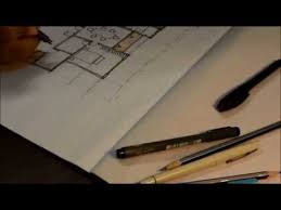 How To Make A Floor Plan On The Computer by How To Draw A House Floor Plan Like An Architect Youtube