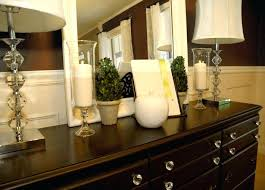 Buffet For Dining Room Table Decor Decorating A How To Decorate Mirrors
