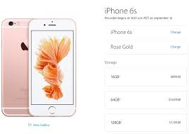 Canada s Unlocked iPhone 6s Pricing Starts at $899 Preorder Sept