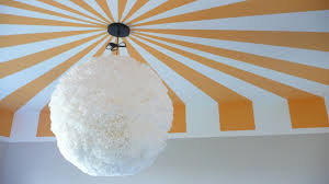 Scraping Popcorn Ceilings While Pregnant by Viva Cindy The Nursery Part I A Striped Ceiling