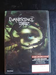 Evanescence Anywhere But Home 2 Disc Live Dvd & Cd Set $ 550 00