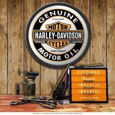 Harley Davidson Genuine Motor Oil Can Mirror