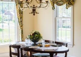 Georgian Dining Room by Residential Interior Design Foxchase Design Llc