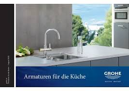 armaturen für die küche grohe deutschland vertriebs gmbh