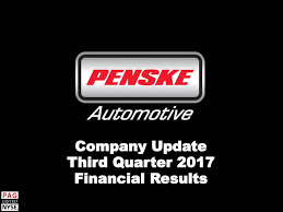 Penske Automotive Group, Inc. 2017 Q3 - Results - Earnings Call ... Home Page Bloggopenskecom Intertional Van Trucks Box In Texas For Sale Used Penske They Are Not Groomed Youtube Pickup Sales Germany Truck 2015 Man Tgm 16290 At Commercial Vehicles New Zealand 2011 Kenworth K200 Australia Wa Fancing Halloween Costume Or The Child Of A Rental Truck And Selectrucks Offers New Used Promotion To Customers