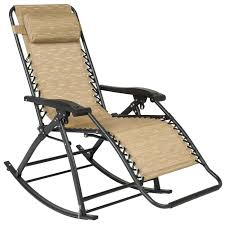 Best Choice Products Zero Gravity Rocking Chair Lounge Porch Seat Outdoor  Patio