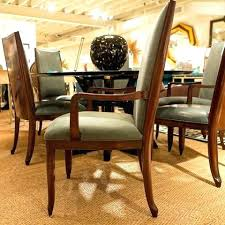 Baker Dining Table And Chairs Tables Val Arm Chair Furniture Room