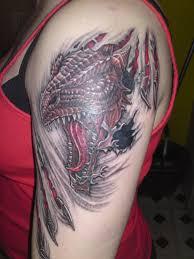 Dragon Shoulder Tattoo 44 Gothic Tattoos