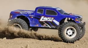 Losi 1/10 TENACITY 4WD Monster Truck Brushless RTR With AVC, Blue ...