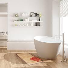 bambusmatte 80x45 fußmatte bambus badvorleger duschmatte