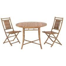 chaise en bambou ronde
