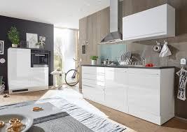 jarklow küchenzeile küchenblock weiß hochglanz günstig möbel küchen büromöbel kaufen froschkönig24