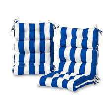 Greendale Home Fashions Cabana Stripe High Back Indoor/Outdoor ... Outdoor Chair Cushions Ding 20 X Walmart Replacement Patio Ed Inoutdoor Sunbrella Cushion Reviews Joss Main Home Decators Collection 215 X Canvas White High Sale Dolce Mango Contour Pads For Your Inspiring Outdoorpatio Cast Silver Carmel Back Fabric 100 Decorating Ideas Good Looking Small Clearance Decor Editorialinkus Fniture Forest Green Amazoncom 2pack 24 In H W