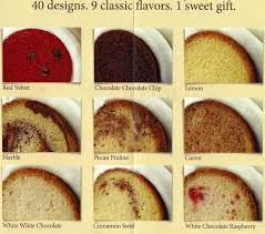 Nothing Bundt Cakes Menu