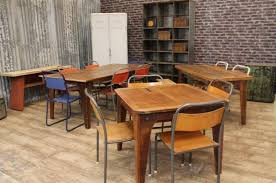 Rustic Restaurant Tables And Chairs Upcycled Furniture Cafe Bistro Vintage Retro Styl On Chair