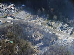 Gatlinburg Chair Lift Fire by Updated List More Structures Damaged Destroyed By Fire