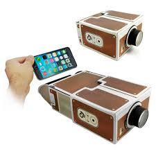 Cardboard Smartphone Projector DIY Home Cinema