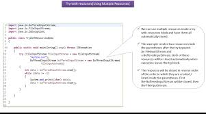 Decorator Pattern Java Io by Java Ee Java Tutorial Java Exception Handling Try With