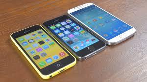 iPhone 5s vs Samsung Galaxy S4 vs iPhone 5c Speed Test