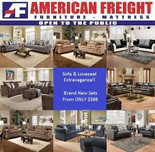 American Freight 7 Piece Living Room Set by American Freight Furniture And Mattress Home Facebook