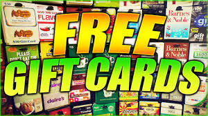 Get FREE GIFT CARDS! How To Get