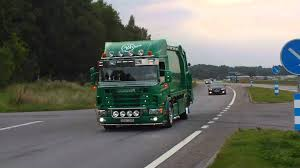Worlds Best Sounding & Looking Scania Garbage Truck - YouTube