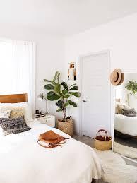 Natural Bedroom On Minimal Living Room