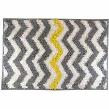 mainstays chevron bath rug yellow walmart com