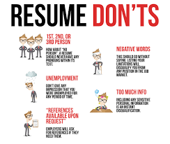 Simple Resume Tips - Simple Resume Do's & Dont's How To Write A Resume 2019 Beginners Guide Novorsum Ebook Descgar Job Forums Valerejobscom 1 Basic Resume Dos And Donts Pdf Formats And Free Templates Tutorialbrain Build A Life Not Albatrsdemos The Dos Donts Writing Rockin Infographic Top Writing Tips Get An Interview Call Anatomy Of How Code Uerstand Visually Why You Should Go To Realty Executives Mi Invoice Format Donts Services For Senior Cv Guides Student Affairs