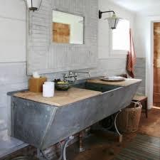 Bathroom Vanity Farmhouse Style Bathrooms Design Rustic Open
