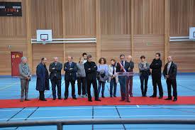 gymnase daniel charles inauguré
